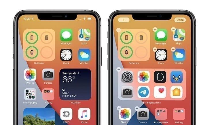 مميزات IOS 14 المحاكية لهواتف الأندرويد