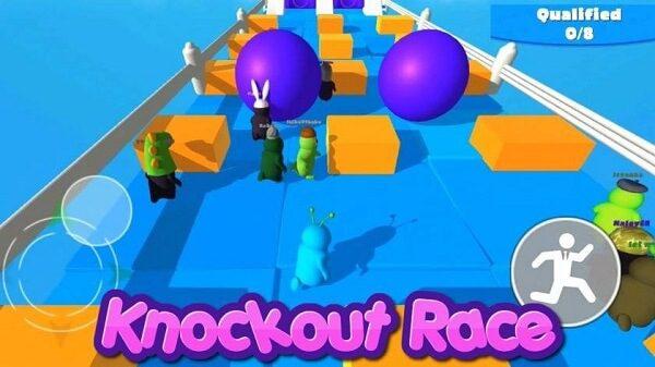 لعبة Knockout Race بدائل لعبة Fall Guys