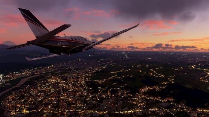 محاكاة الطيران
