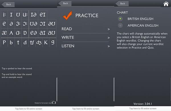 تطبيق Sounds: The Pronunciation App