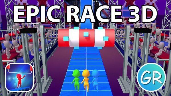لعبة Epic Race 3D بدائل لعبة Fall Guys