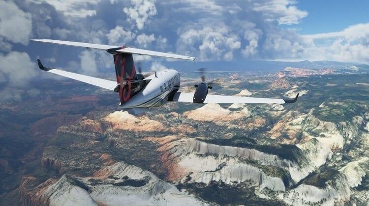 لعبة Microsoft flight simulator 2020 3