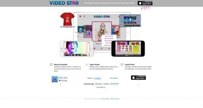 تطبيق video star تطبيقات بديلة لتطبيق تيك توك