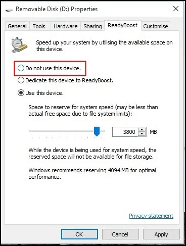 زيادة مساحة الرام في الحاسوب 1