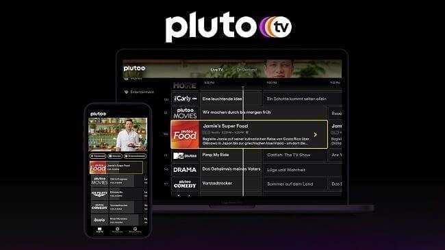 تطبيق Pluto TV