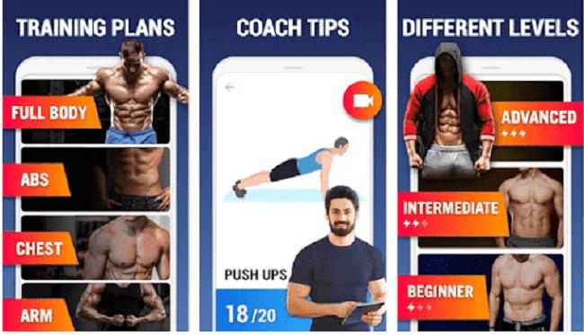 تطبيق Home workout