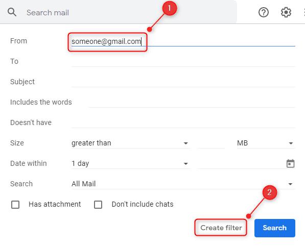 حظر Gmail 2
