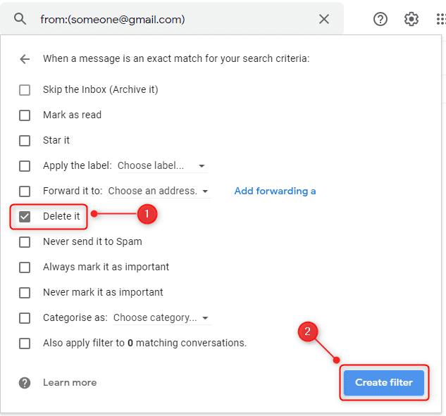 حظر Gmail 3