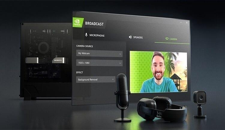 تطبيق NVIDIA Broadcast و4 مزايا سيحبها كافة الستريمر حول العالم