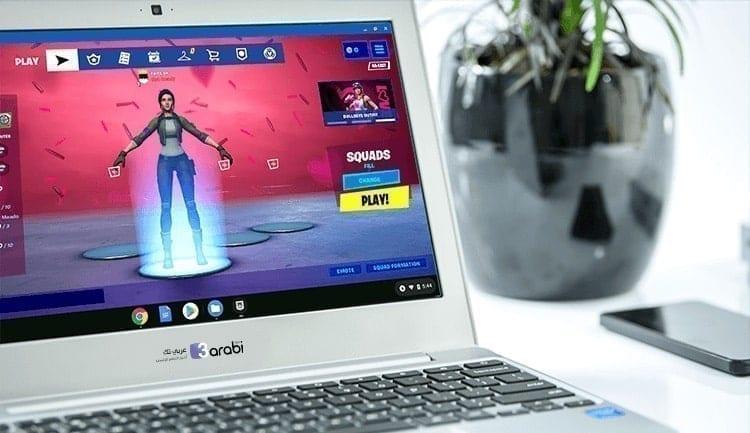 طريقة تحميل ولعب فورتنايت عبر أجهزة Chromebook بشكل صحيح