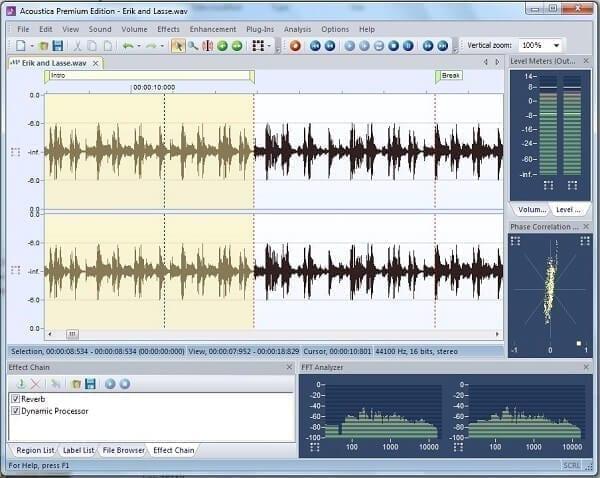 برنامج Acoustica Basic Edition
