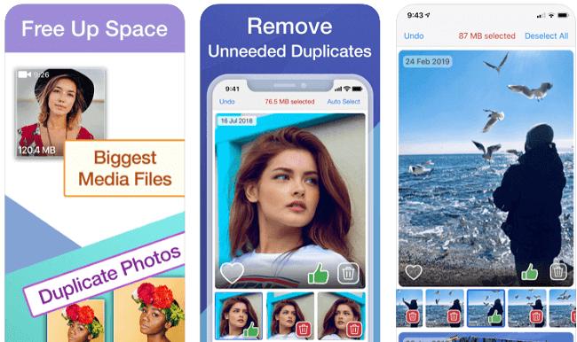 تطبيق Cleaner for Media Files تطبيقات لتحرير مساحة إضافية في هواتف الآيفون