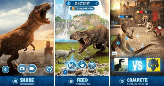 تطبيق Jurassic world