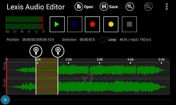 برنامج Lexis Audio Editor برامج التعديل على الصوتيات البسيطة للويندوز 10