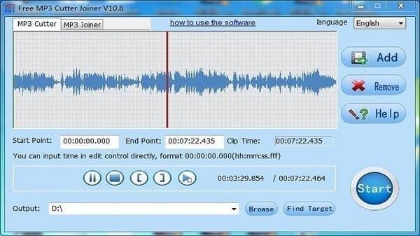 برنامج MP3 Cutter