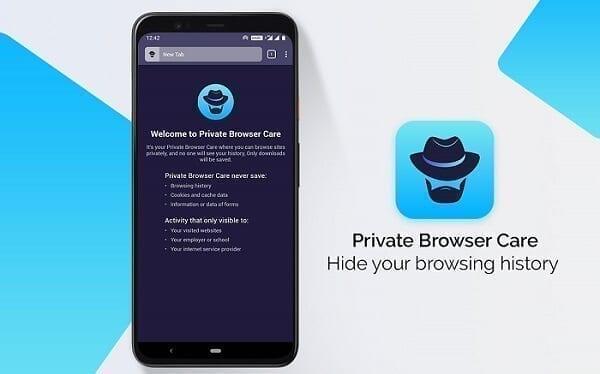 تحميل متصفح PRIVATE BROWSER CARE
