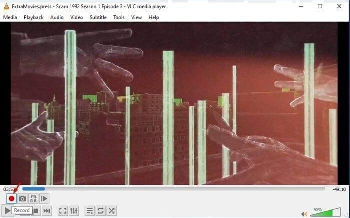 قص مقاطع الفيديو عبر برنامج VLC