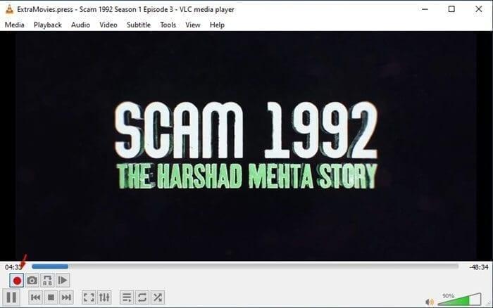 قص مقاطع الفيديو عبر برنامج VLC 1