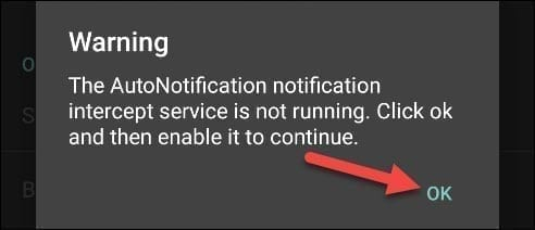 تطبيق AutoNotification 5