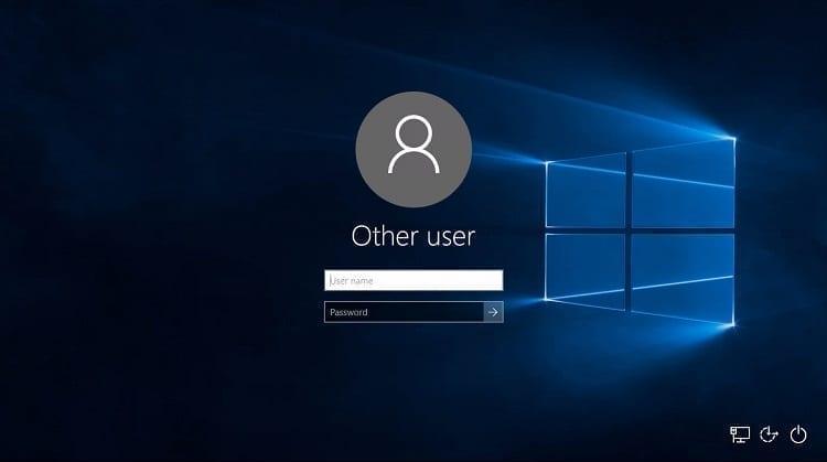 طريقة تخطي شاشة تسجيل الدخول في ويندوز 10