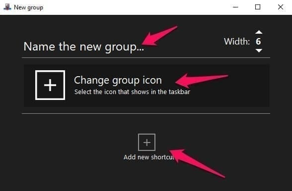 Taskbar Groups 2