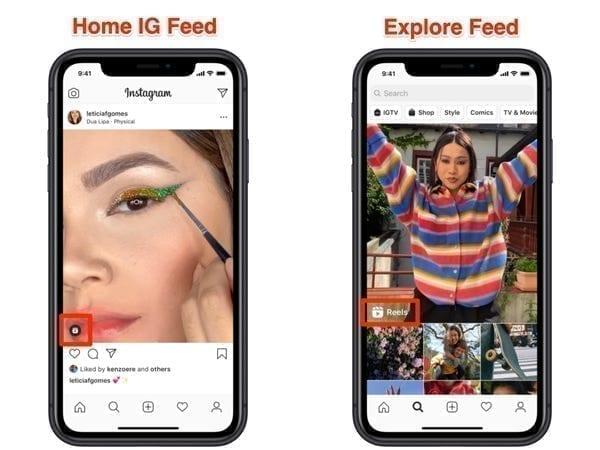 كيفية إضافة فيديوهات قصيرة من على الهاتف إلي Instagram Reels