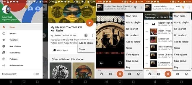تطبيق Google Play Music تطبيقات لتشغيل الموسيقى في هواتف الآيفون