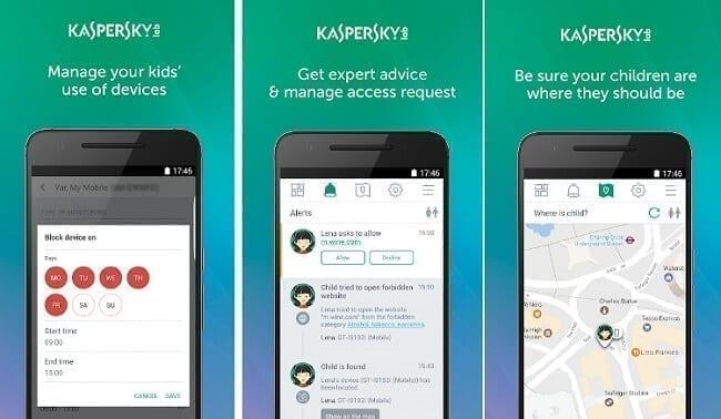 تطبيق Kaspersky Safe Kids