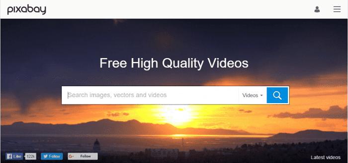 موقع Pixabay Videos