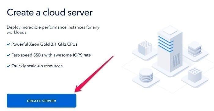 حاسوب خارجي VPS بسرعة انترنت 50MB