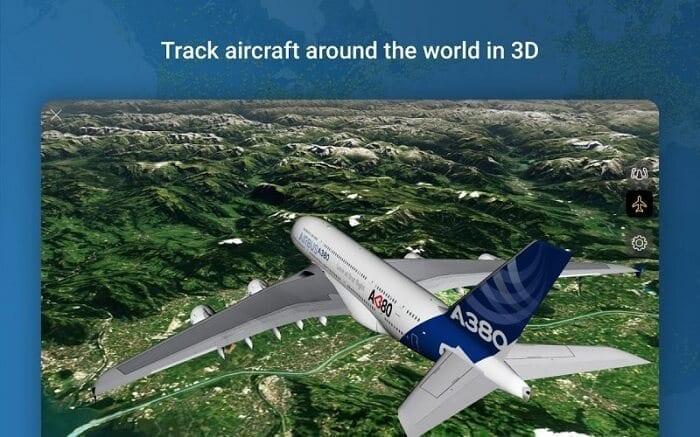 تطبيق Flightradar24 2