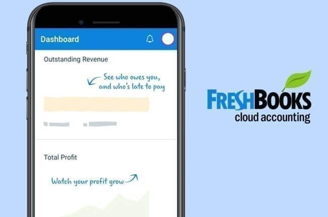 تطبيق freshbooks