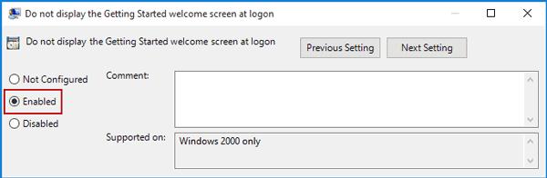 تخطي شاشة تسجيل الدخول في ويندوز 10 2