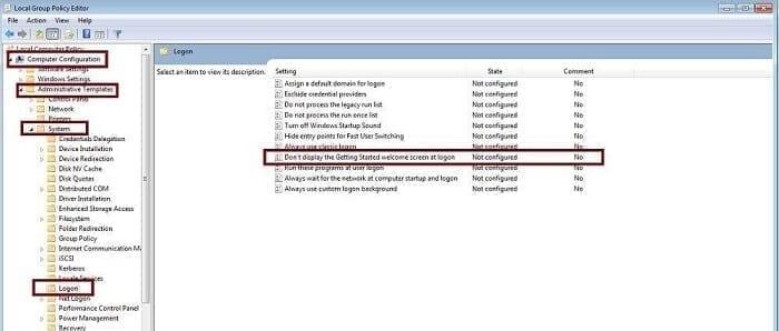 تخطي شاشة تسجيل الدخول في ويندوز 10 1