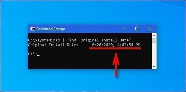 معرفة تاريخ آخر تحديث لنظام التشغيل ويندوز 10 2