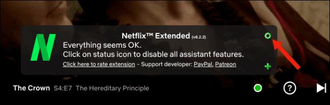 إضافة Netflix Extended