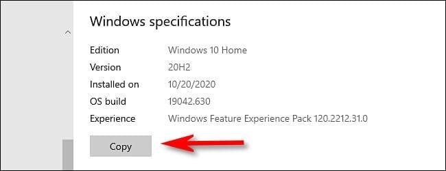 معرفة تاريخ آخر تحديث لنظام التشغيل ويندوز 10