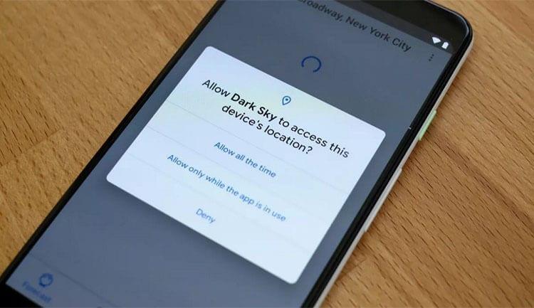 كيفية معرفة التطبيقات التي تقوم بالوصول إلى موقعك في هاتف الأندرويد