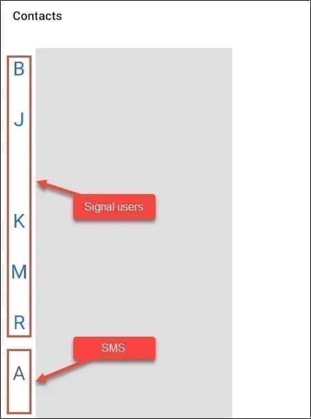 تطبيق سيجنال كتطبيق رسائل SMS الافتراضي في هواتف الأندرويد