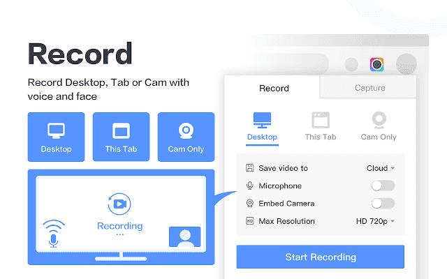 إضافة Awesome Screenshot & Screen Recorder