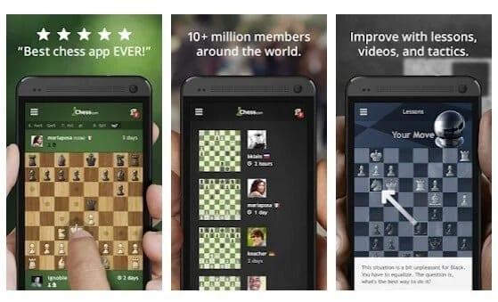 تطبيق Chess - Play and Learn