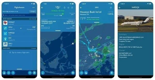 تطبيق FlightAware