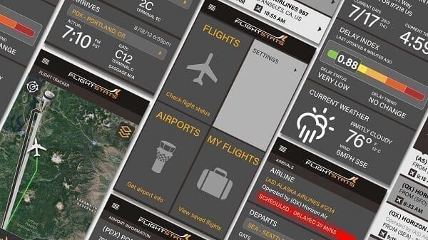 تطبيق FlightStats