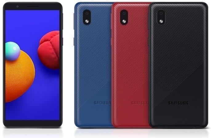 الهاتف بالألوان التالية