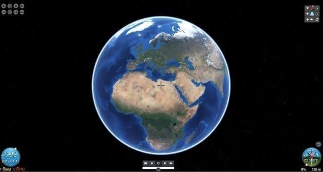 برنامج NASA World Wind