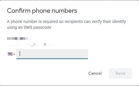 ارسال بريد الكتروني محمي عبر خدمة Gmail 1