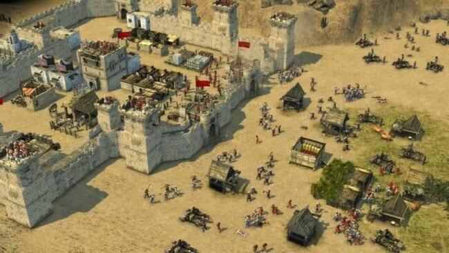 لعبة Stronghold Crusader ألعاب استراتيجية للحاسوب