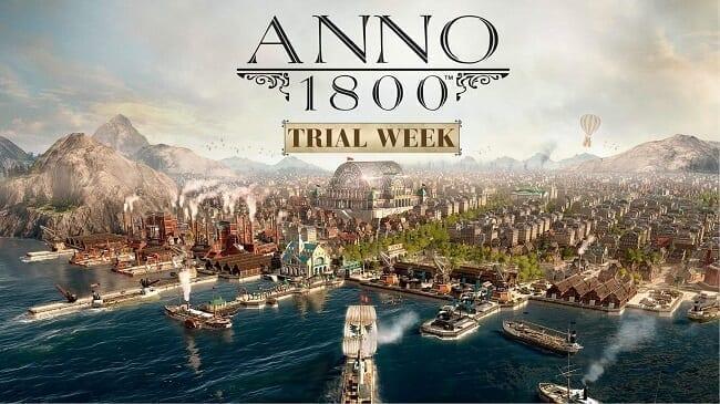 لعبة Anno 1800 ألعاب استراتيجية للحاسوب