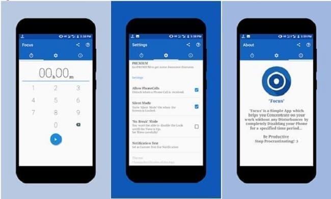 تطبيق Focus – Be Productive تطبيقات التركيز لنظام Android