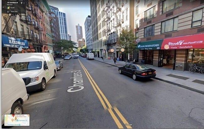 برنامج Google Street View